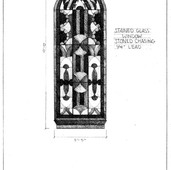 Window - Russian Neo Gothic Detail Drawing