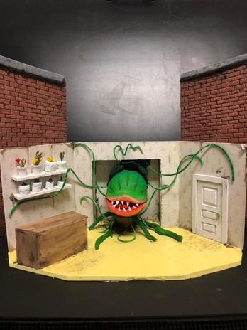 Little Shop of Horrors Model Close Up of Shop