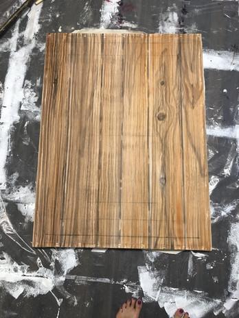 Progress Image of Wood Grain