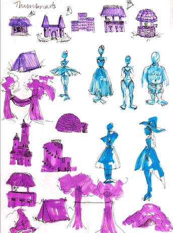 Sketches Page 1