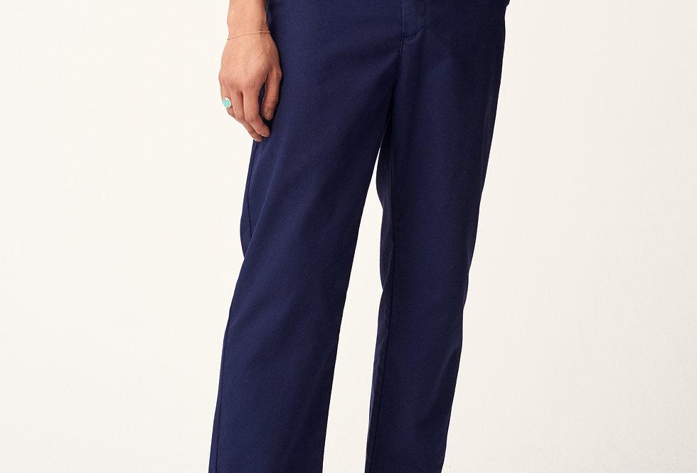 Cropped box pants