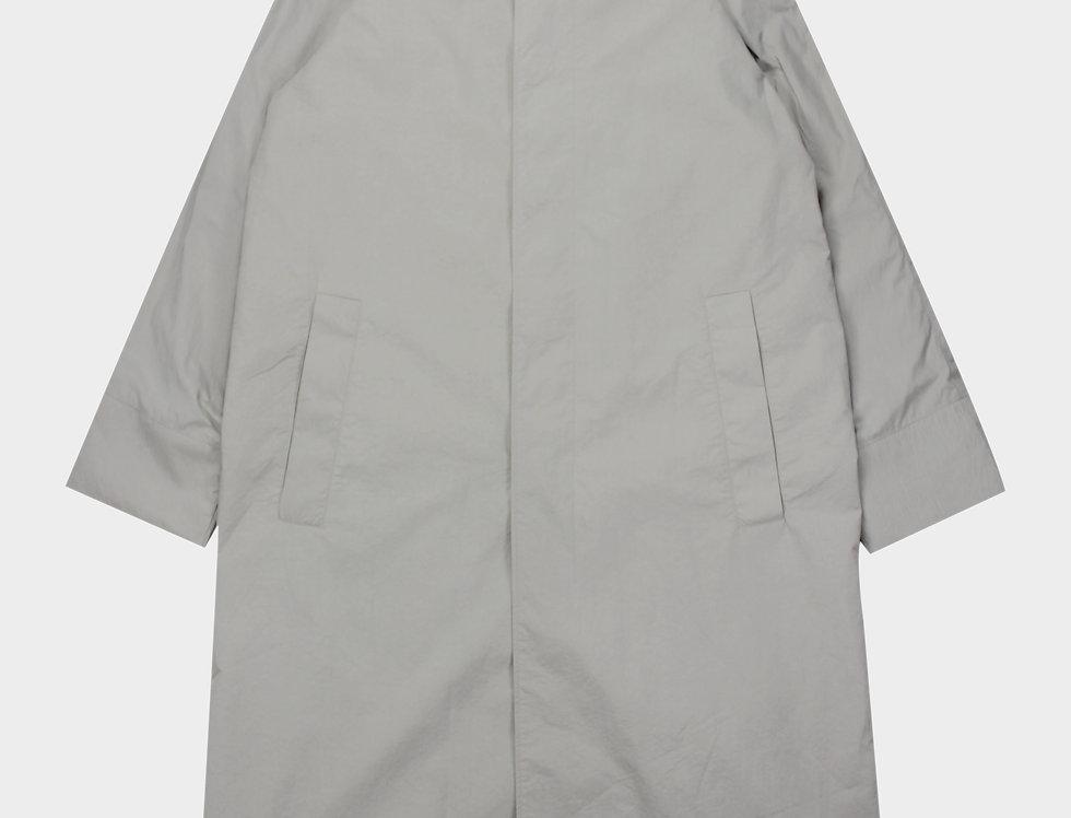 Balmacaan Coat Beige