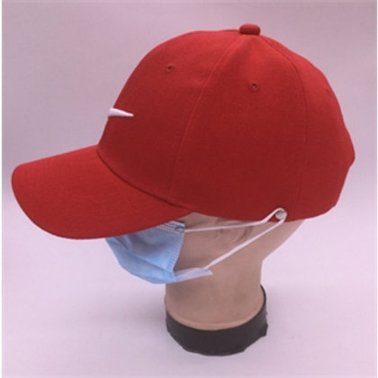 Cap with Mask Hook