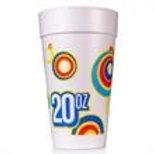 20 oz Disposable Styrofoam Cup (R)