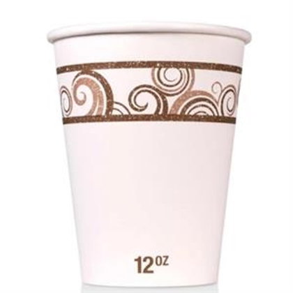 12 oz Disposable Paper Hot Cup