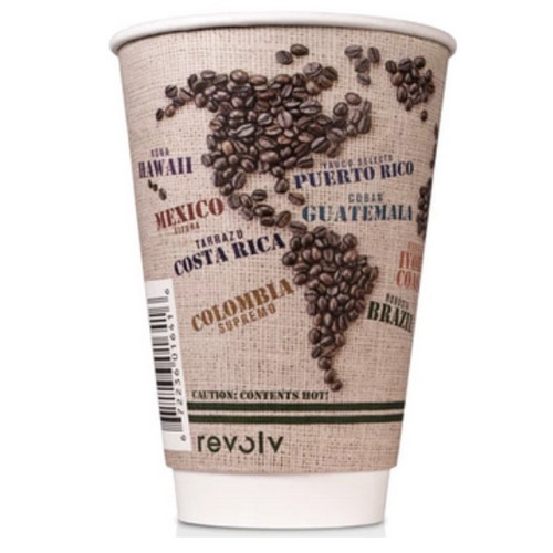 16 oz Insulated Paper Cup