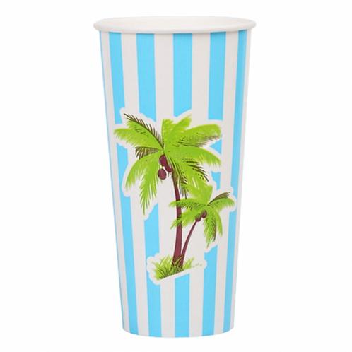 24 oz Disposable Paper Cold Cup (R)