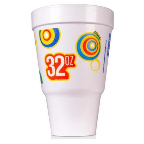32 oz Foam Travel Cup