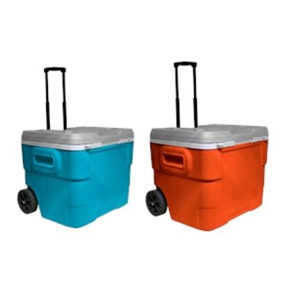 68 Quart IML Roller Cooler