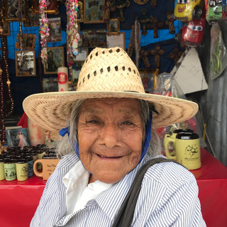 Beautiful faces of Mexico