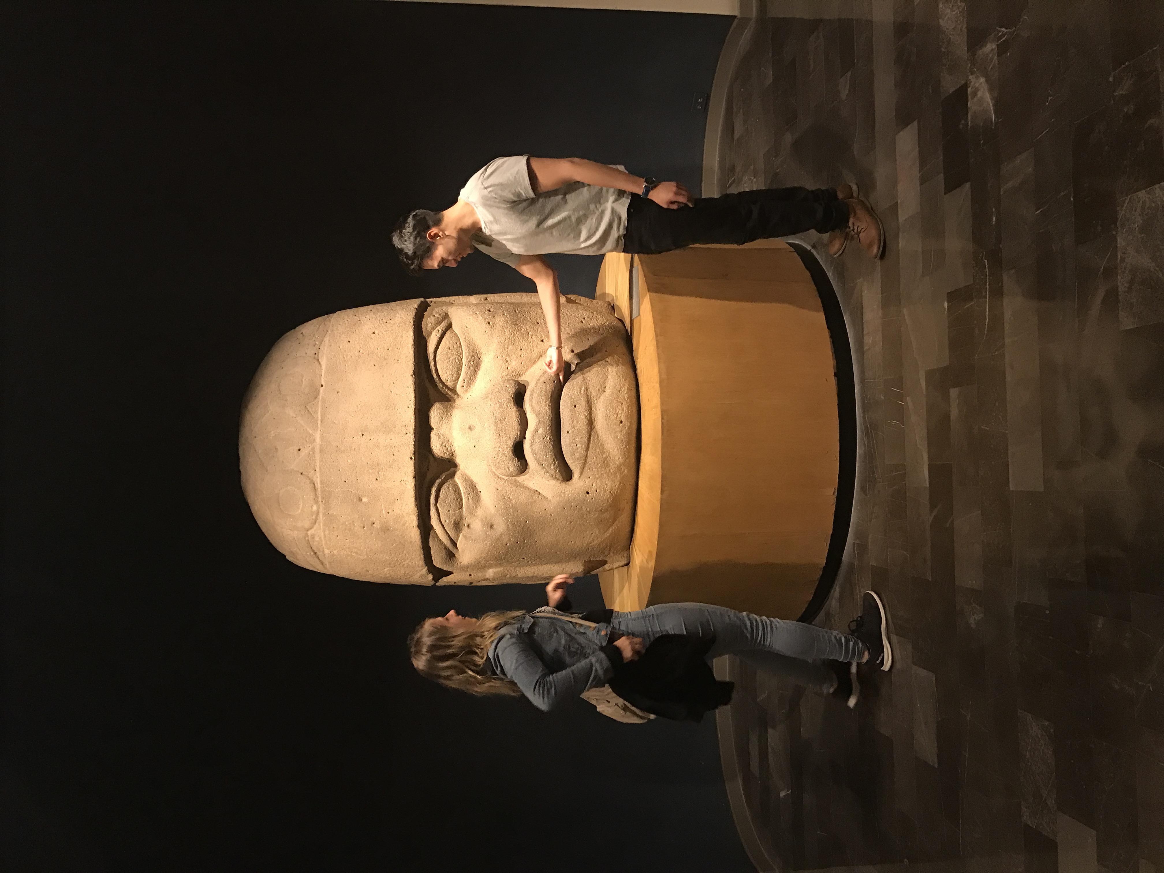 museum, giant head
