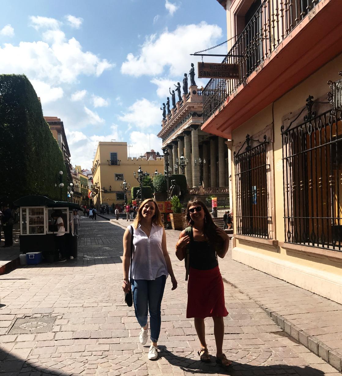 Walking in Guanajuato