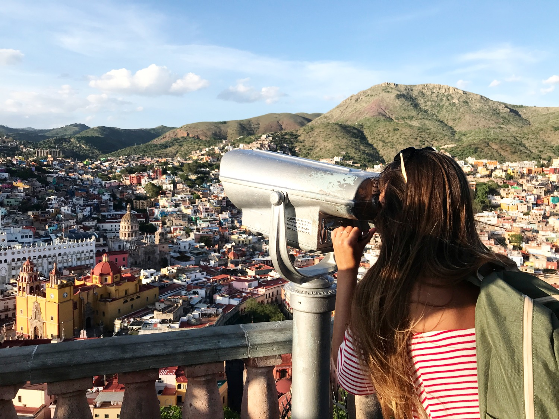 Incredible view of Guanajuato