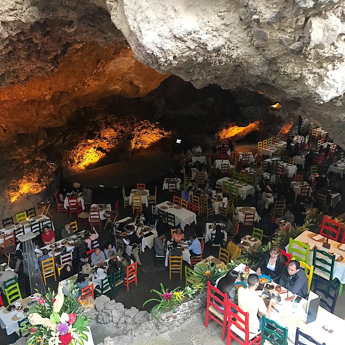 amazing cave restaurant !