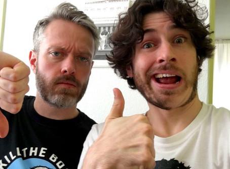 Thumb Wrestling 005 // Steven Morgan vs. Deadpool (and Deadpool 2)