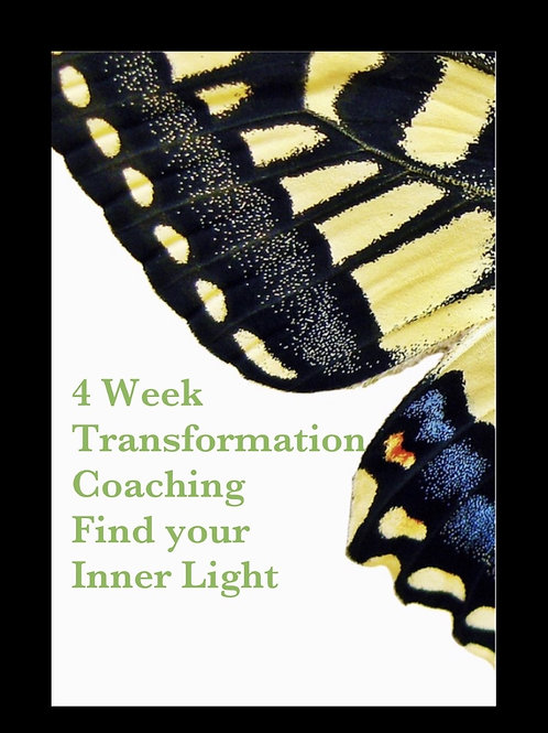 4 week Transformation Package-finding your inner light