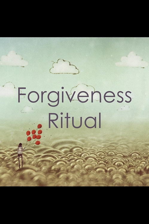 Forgiveness Ritual Healing Intervention