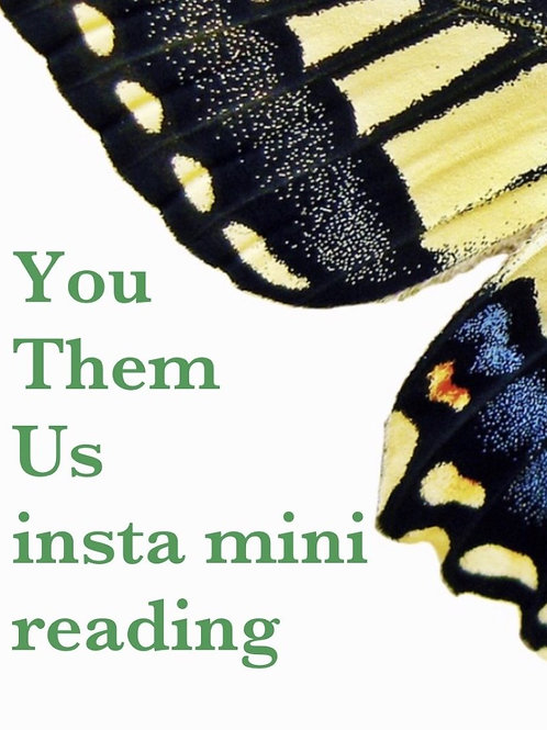 You, Them, Us Insta mini Reading
