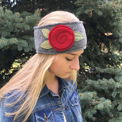 Upcycled Wool Headband