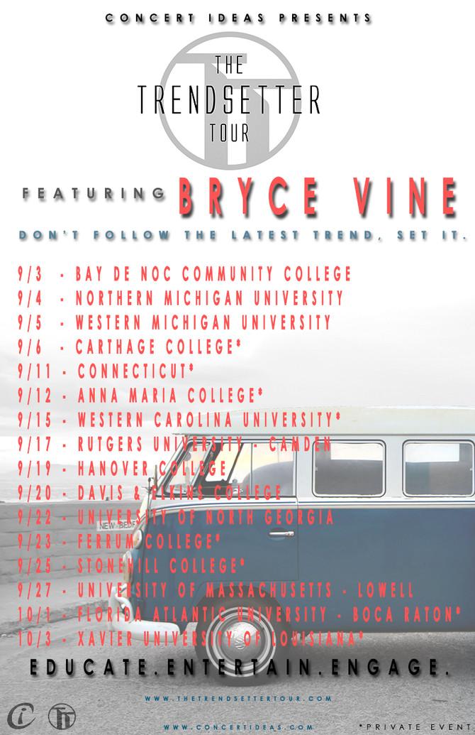 Fall 2014 Trendsetter Tour poster!