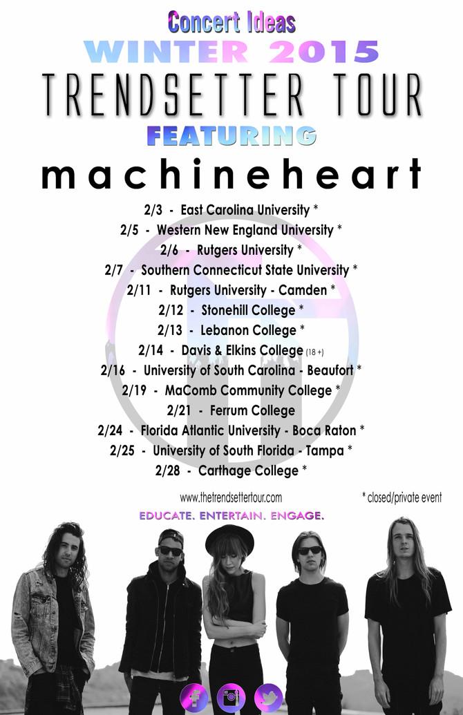 Winter 2015 Trendsetter Tour poster is here!