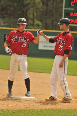 Spence and Harding first base