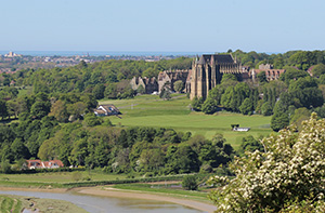 Lancing College from Mill Hill_300px