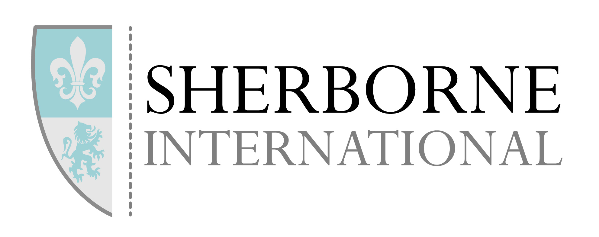 sherborne international new logo blue from Glenn
