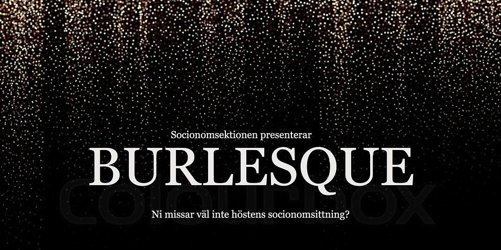 Burlesque: Höstens socionomsittning '19