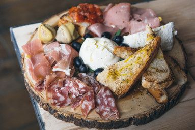 Cured meats board Made in Italy London