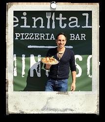 Italian pizza in London