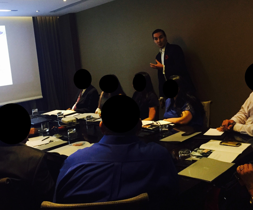 Group Meeting in Chile