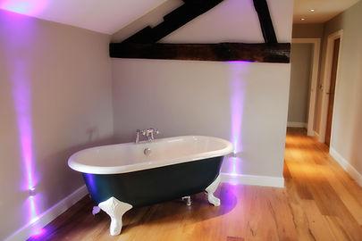 website designers in Leicester, website content creation for grey blue lighting design