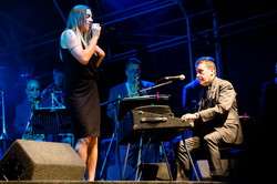 Mel C with Jools Holland