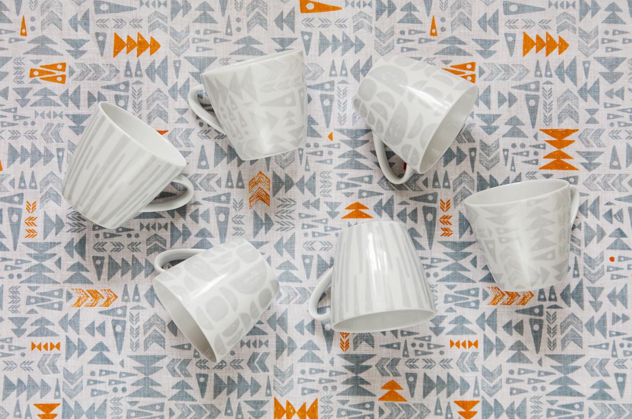 mugs grey