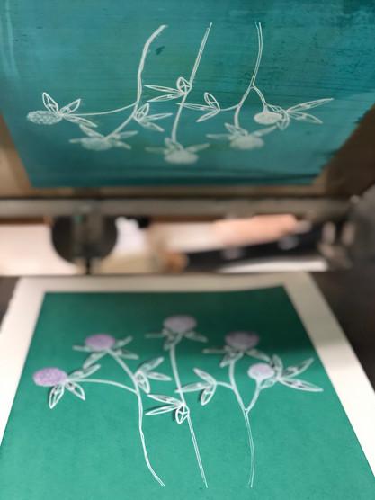 Paper print process