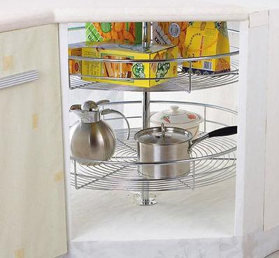 mâm xoay inox 360 tủ bếp
