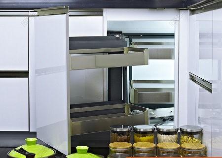 giá góc liên hoàn tủ bếp