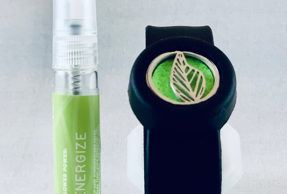 BFF Locket Diffuser Bracelet and Flower Power Mist
