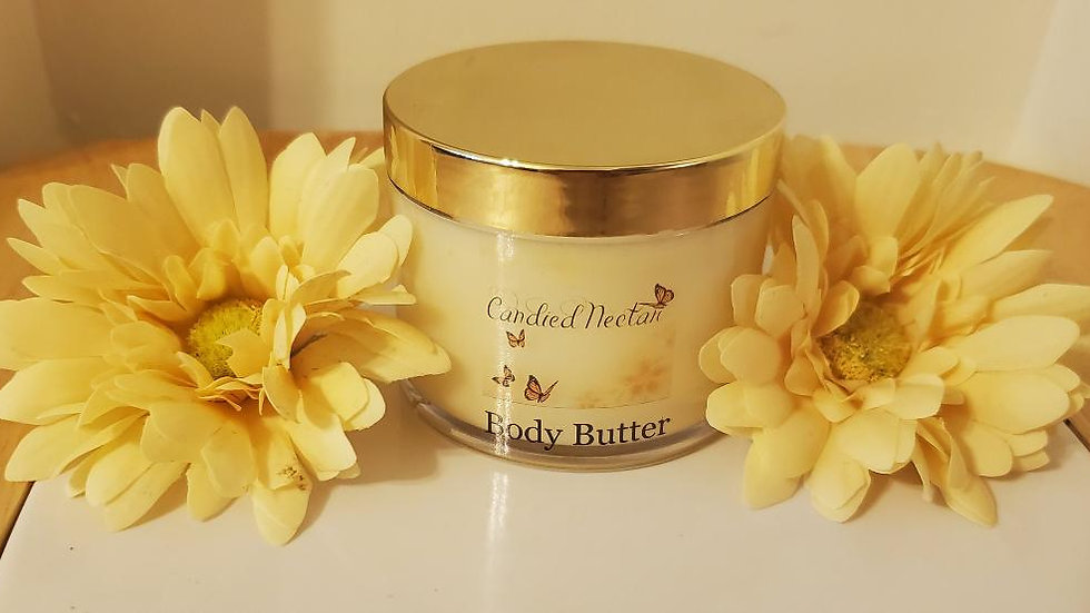 Lemon body butter with Jojoba & cocoa