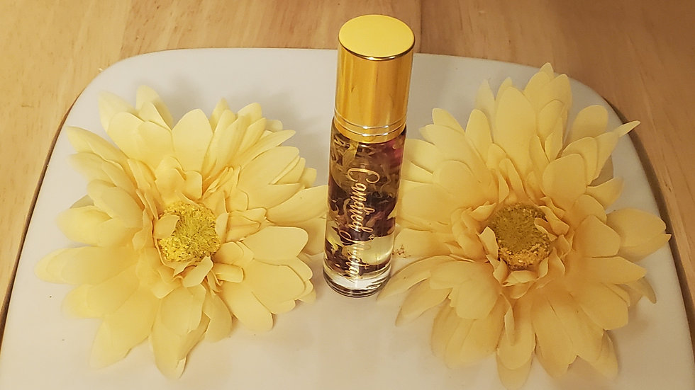 Calendula and Rose lip oil