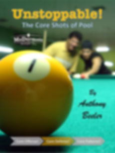 Pool Teacher Master Instructor Pro Billiards Instruction Unstoppable! Positive Thinking for Pool Players