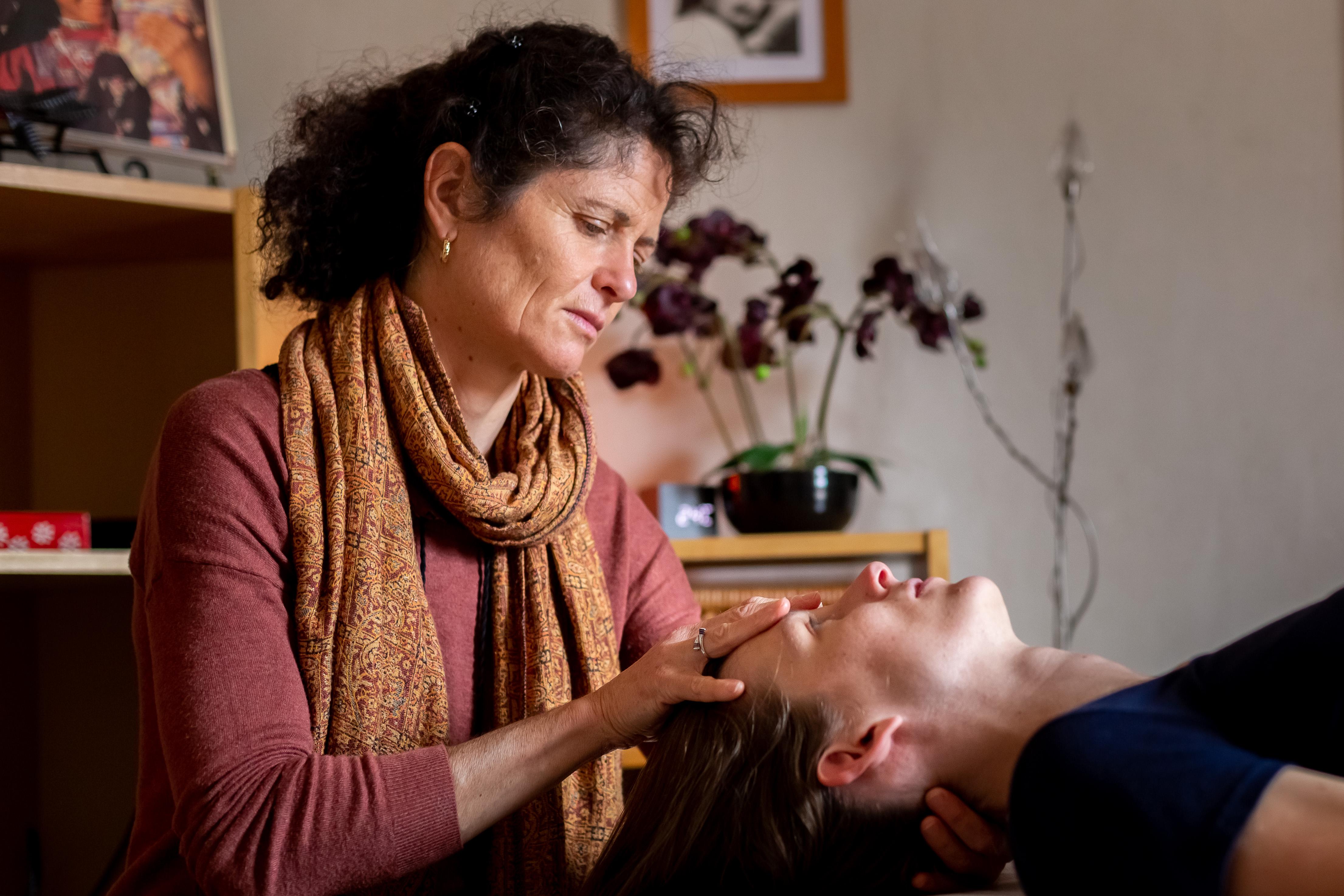séance somatopathie mère enfant