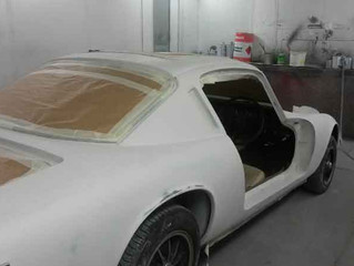Lotus Elan +2 Car Paint Auto Body Respray