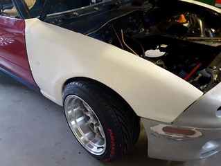 MAZDA MX-5 Car Paint Jobs Respray Body Service Repairs Classic Car Restoration Attleborough Wymondha