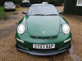 Porsche 911 GT3 - GRP Products and Body Panel Composites - Car Paint Jobs Respray Body Service Repai