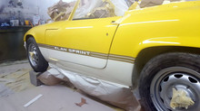 1971 Lotus Elan S4 Sprint - GRP Products and Body Panel Composites - Car Paint Jobs Respray Body Ser