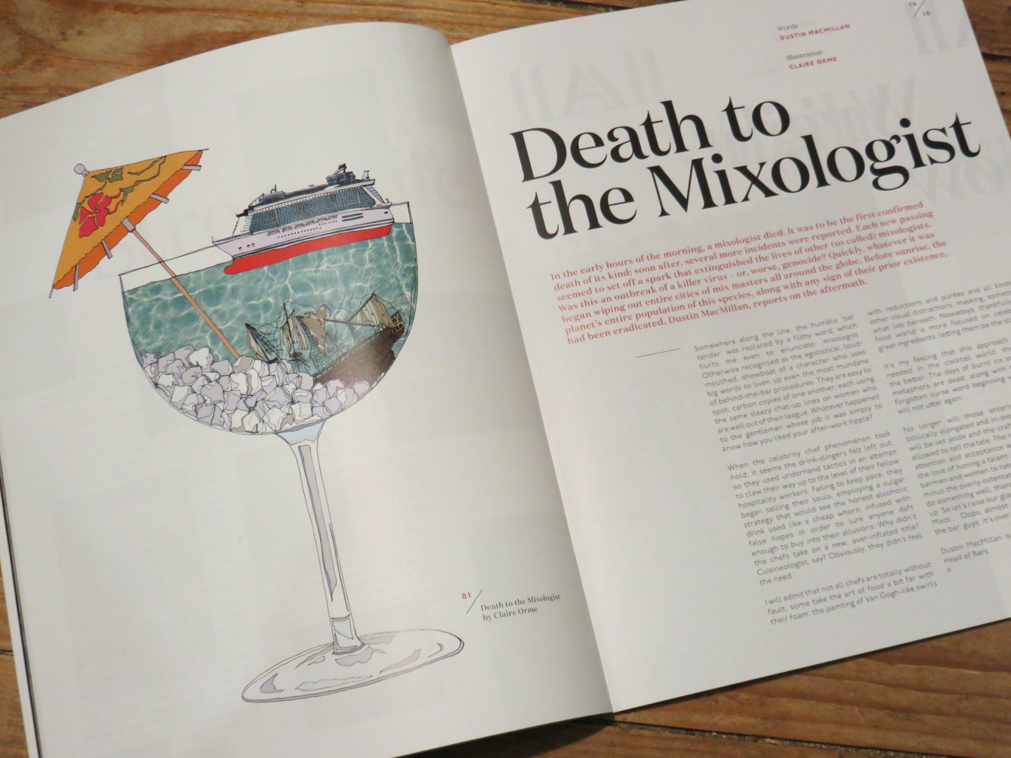 Death to the Mixologist