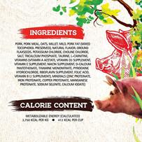 key benefits inception pork -- ingredien