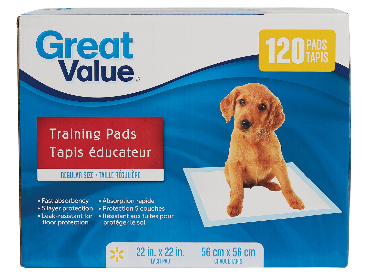 Puppy Training Pads (or Pee-Pads)
